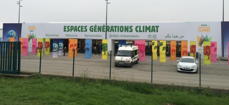 """""""Espaces Générations Climat"""" at the Green Zone"""